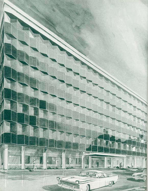 50 Years Ago: Structural Steelwork in Newspaper Buildings