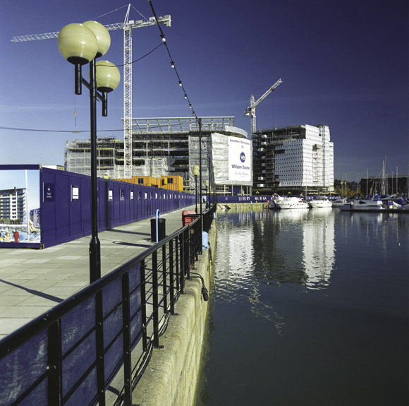 Admiral's Quay salutes steel