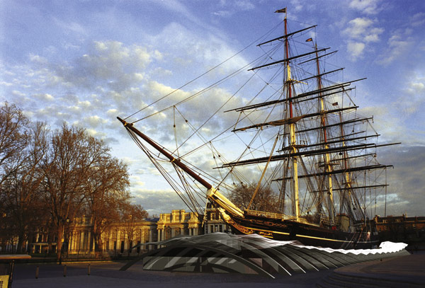 Steel supports restoration of the Cutty Sark