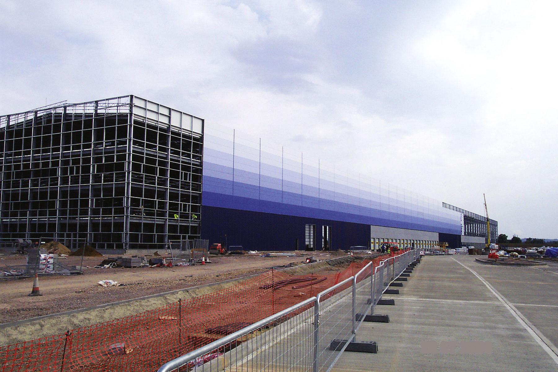 Logistics centre rises rapidly