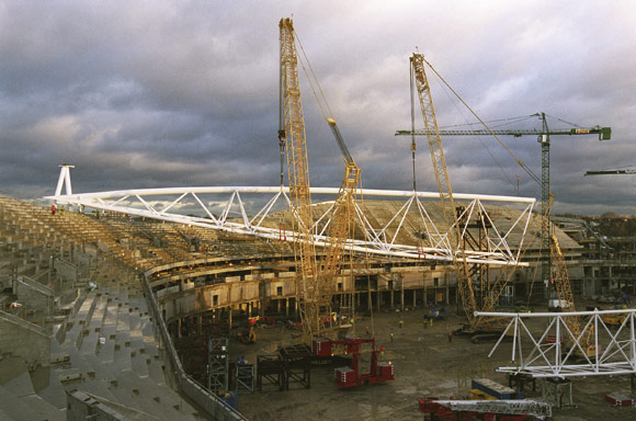 Modelling scores at Arsenal's new home