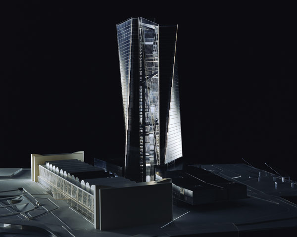 Twin towers for European bank HQ