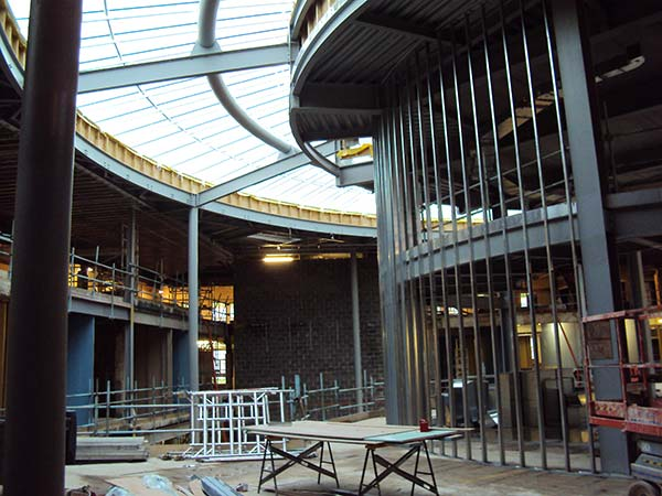 Council HQ opens with new steel interior