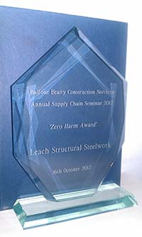 Steel safety system wins recognition