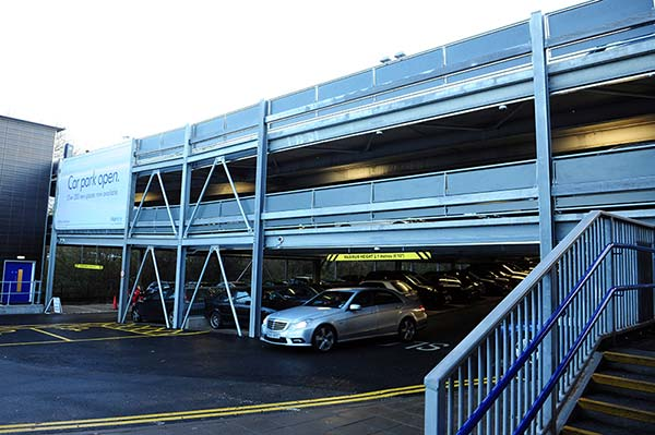 Car park creates extra spaces for rail passengers