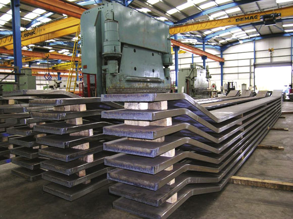 Curved steel boosts creative design | newsteelconstruction com