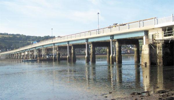 Shaldon Bridge Strengthening