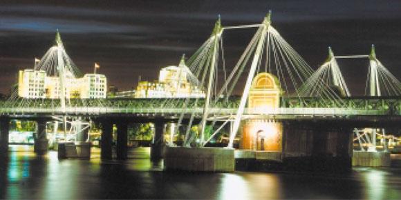 Hungerford Bridge Walkways