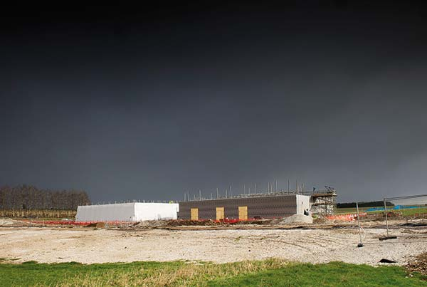 Work progresses on Stonehenge visitor centre