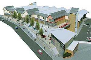 Visualisation of the completed scheme