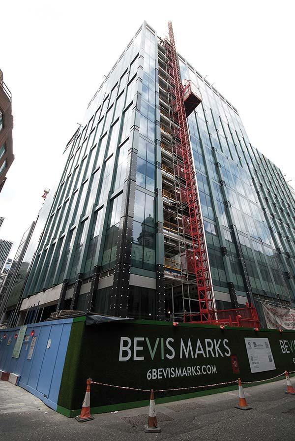 Steel ensures foundation reuse for City development