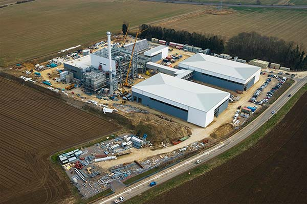 Lincolnshire renewable energy plant nears completion
