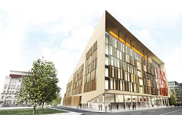 Technology centre for Glasgow university