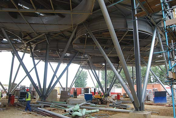 Steel delivers renewable solution
