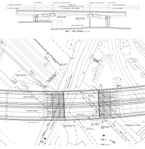 West Elevation diagram