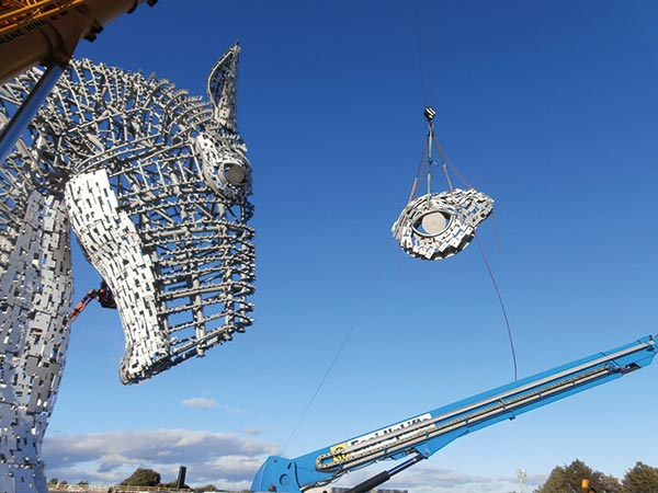Kelpies give the nod to steel