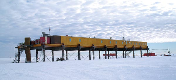 Antarctic station's steelwork passes the test