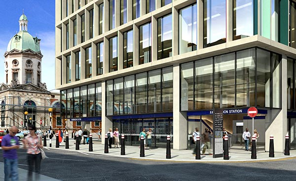 Steel leads the way for Crossrail developments