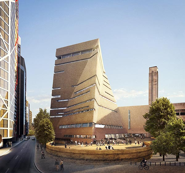 Tate Modern expands with steel extension