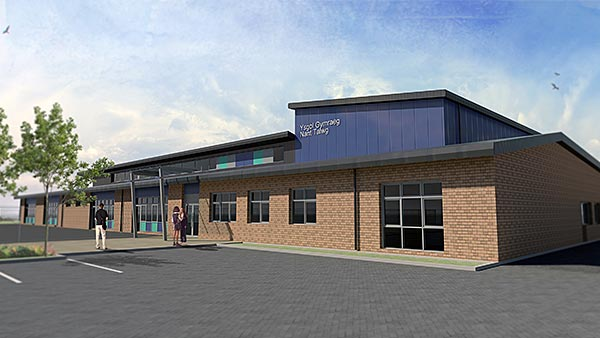 Flexible design for South Wales school