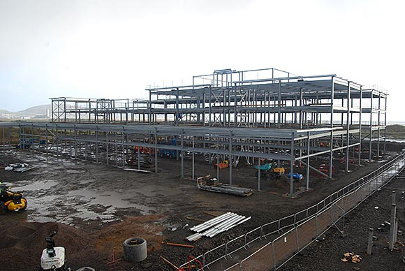 The Manufacturing facility takes shape