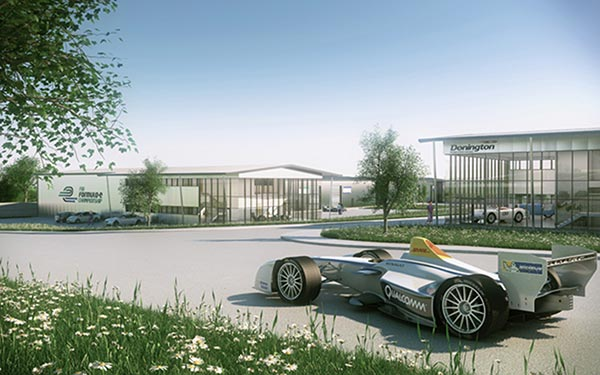 Steel construction leads the way in Formula E