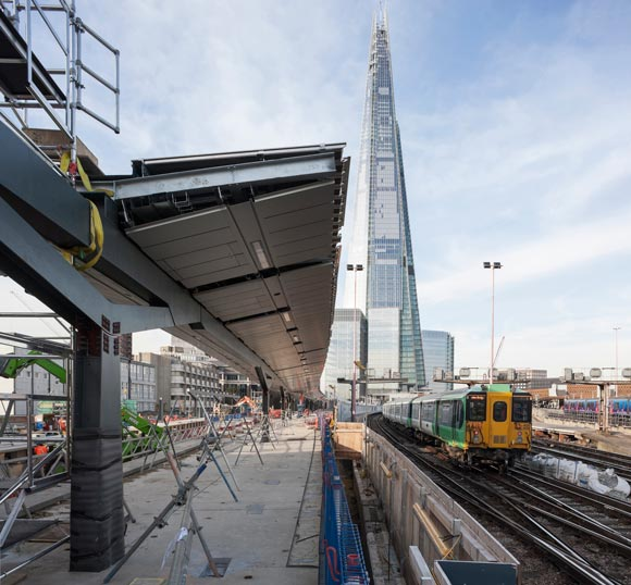 Station redevelopment on track with steel