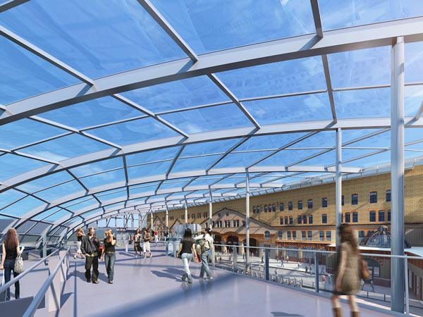 Curving Manchester's iconic station roof begins