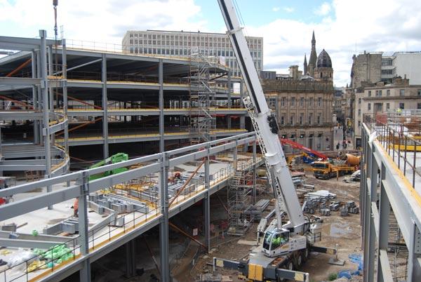 Westfield development boosts regeneration of Bradford