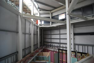 A tight and confined site did not hinder the steel erection programme