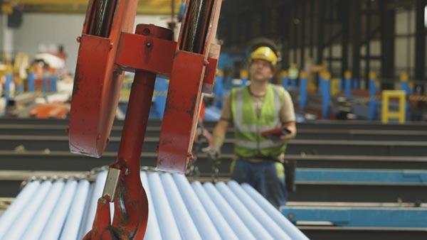 Streamlining steel distribution