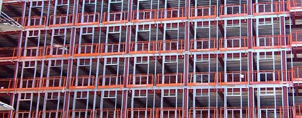 Thermal bridging in steel framed buildings