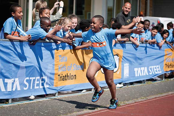 Kids of Steel, part of Tata Steel's Community Partnership Programme, has given nearly 60,000 children the opportunity to have a fun, positive experience of sport.