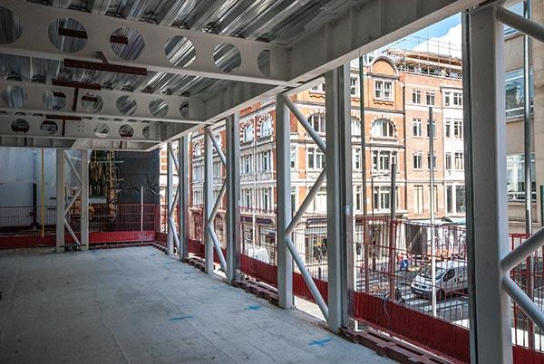 Bespoke construction for upmarket site