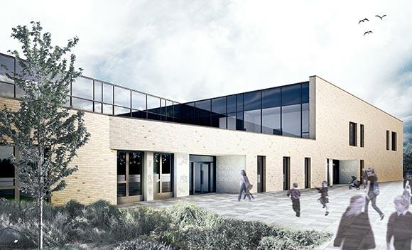 Visualisation of Crieff Primary School
