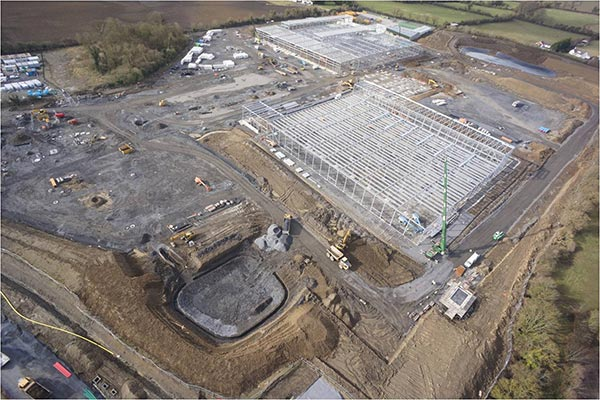 Steel completed on Dublin distribution centre