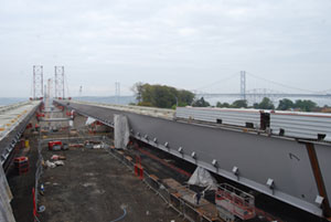 The new bridge will be the third crossing of the Firth of Forth