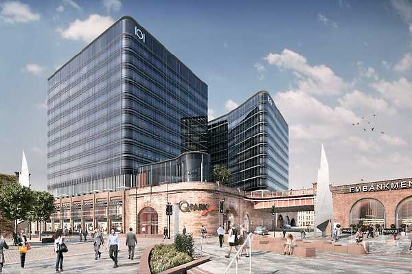 Steel to kick start Manchester and Salford regeneration scheme