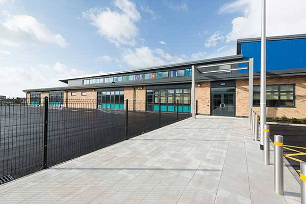 A brace of steel-framed schools for South Wales