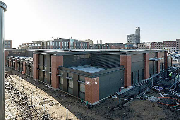 First building completed at Swansea University's £450m Bay Campus