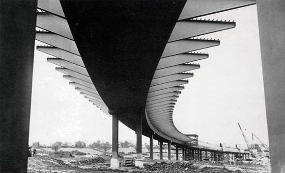 Motorways of Britain: Fylde Junction Higher Bridge on the Preston By-Pass