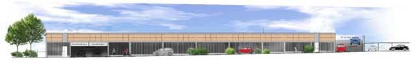 Car park aids West Midlands station expansion