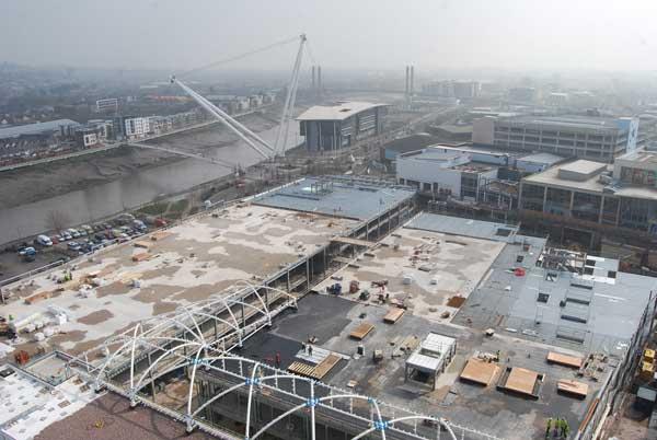 Newport regeneration in full swing