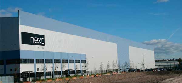Billington Structures to supply steel for Next mega shed