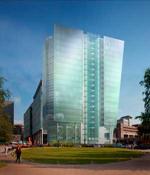 Third steel tower planned for Birmingham's Snow Hill