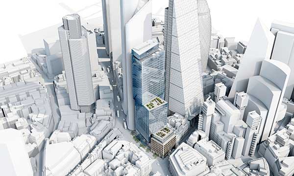 Plans for 40-storey high City steel tower unveiled