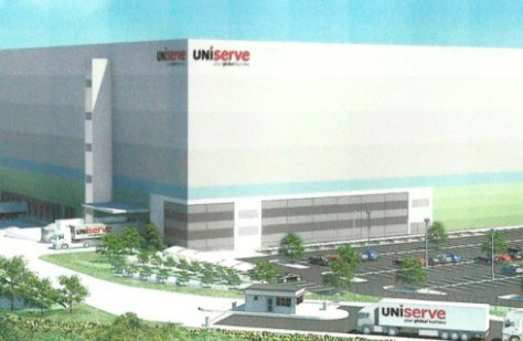 Huge distribution centre for Felixstowe port expansion