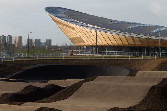 The Velodrome is now at the centre of a cycling park