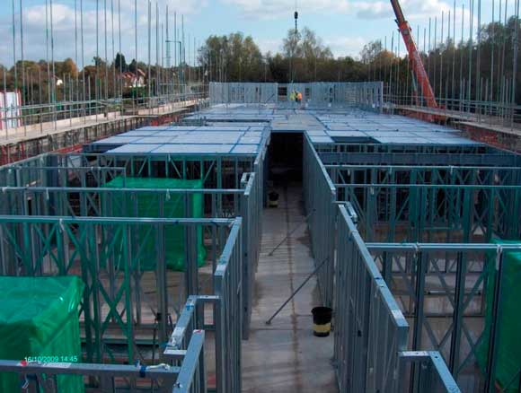 Light steel frame construction