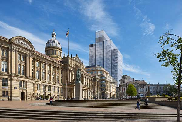 Birmingham's tallest office tower given the green light by city planners
